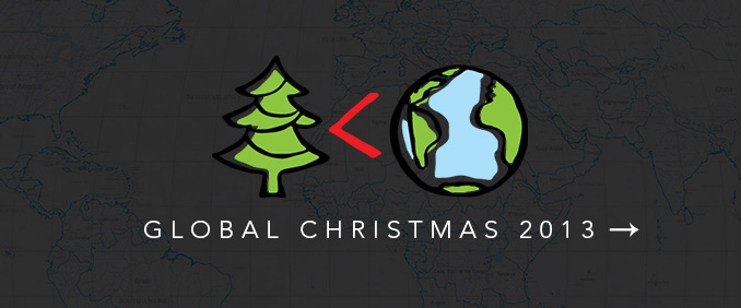 Global Christmas Landing Rotator