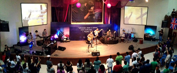 Global Rotator Peru Worship